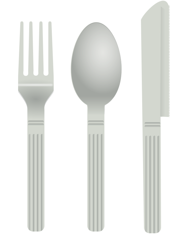 Free fork and spoon
