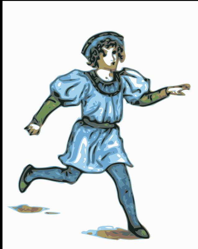 Free boy illustration