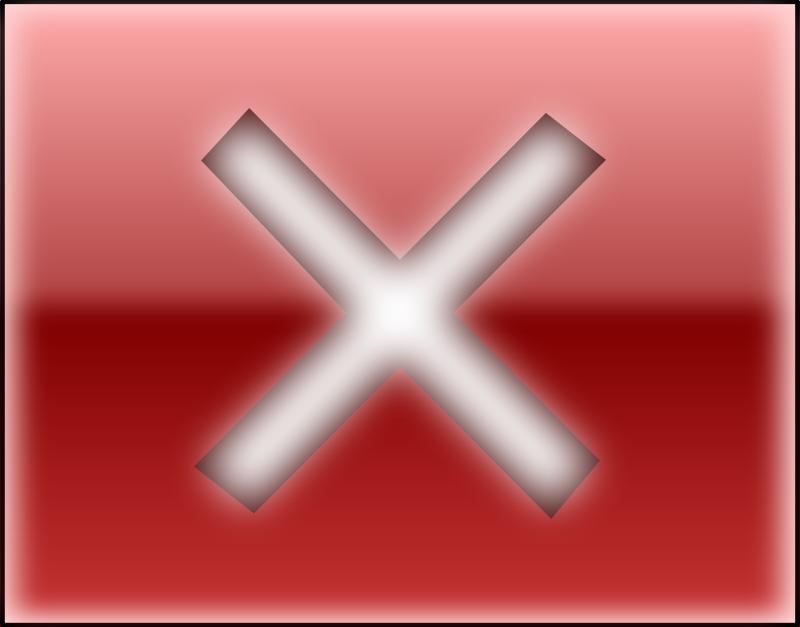 Free Clipart: Close button | emyller