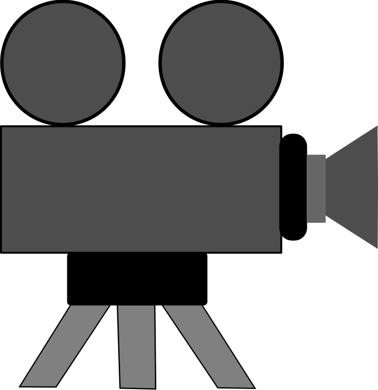 Free Clipart: Movie Camera | schoolfreeware