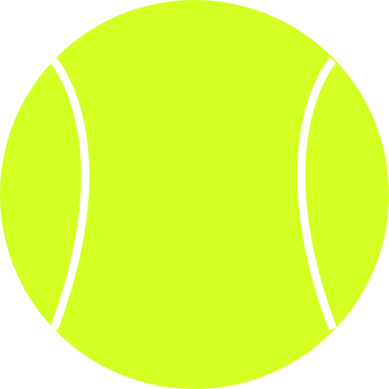 Free Clipart: Tennis Ball | schoolfreeware