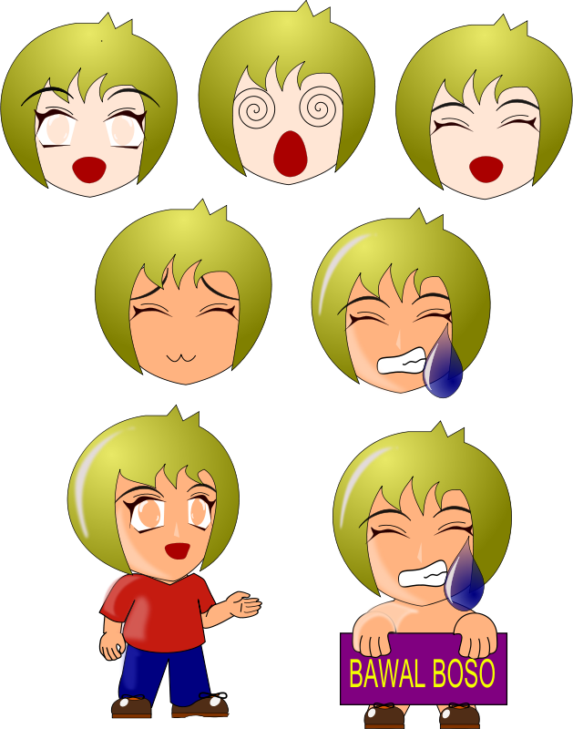 Free Clipart: Chibi | wsnaccad