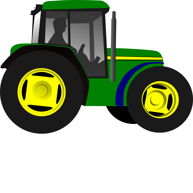 Free Little Green Tractor