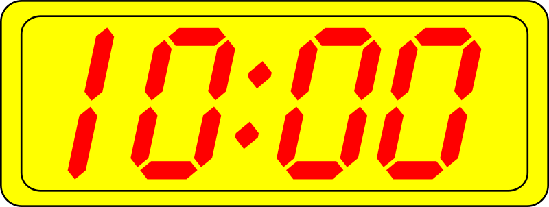 Free Digital Clock