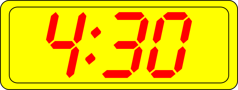 Free Digital Clock