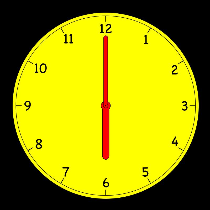 Free Clipart: Clock | manio1