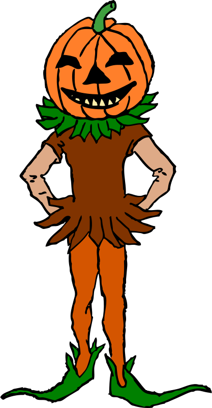 Free Pumpkin Boy Color Version
