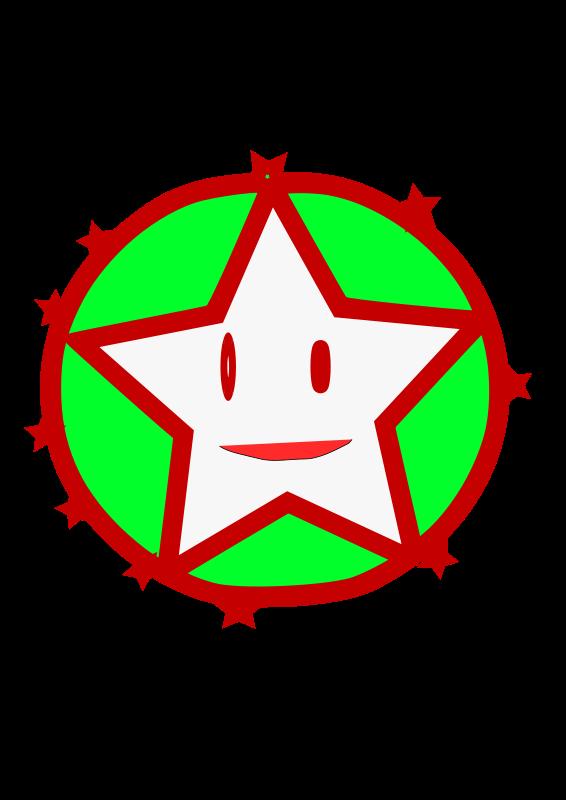 Free smiling star