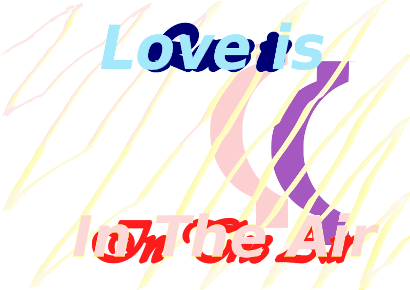 Free E-Card love is in the air 27 Aug 2008