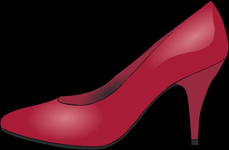 Free red shoe