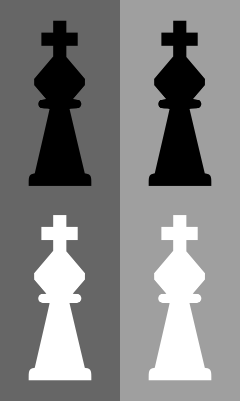 Free 2D Chess set - King