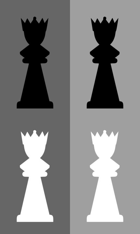 Free 2D Chess set - Queen