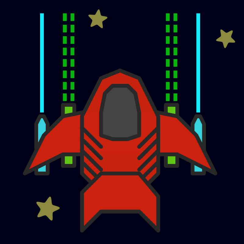 Free Clipart: Space ship | qubodup