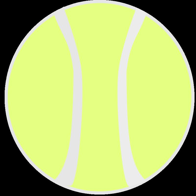 Free tennisball_flat