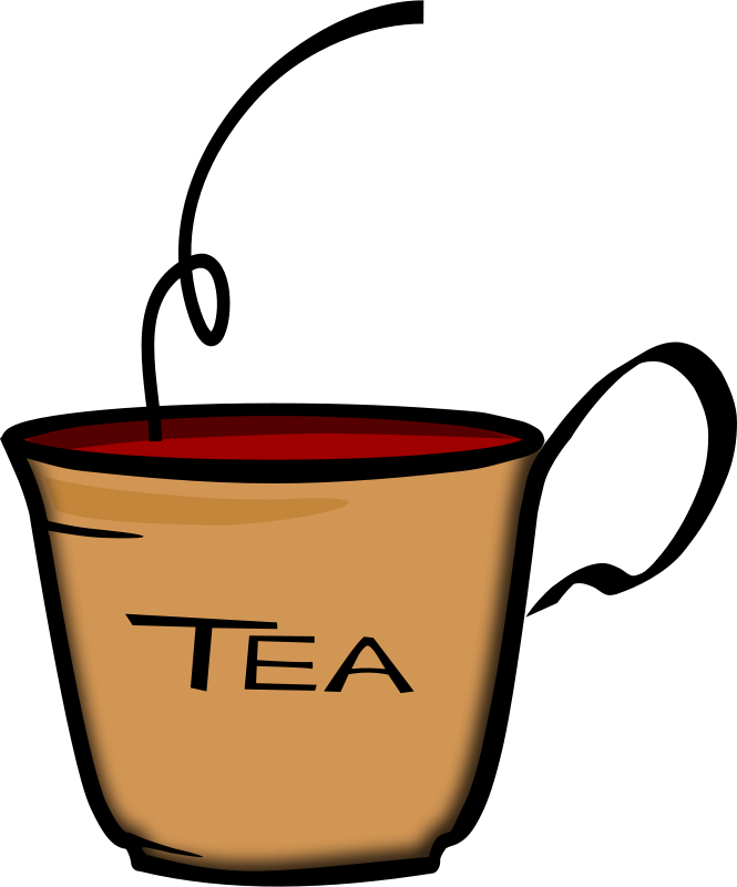 Free Clipart: Cup of Tea | PrinterKiller