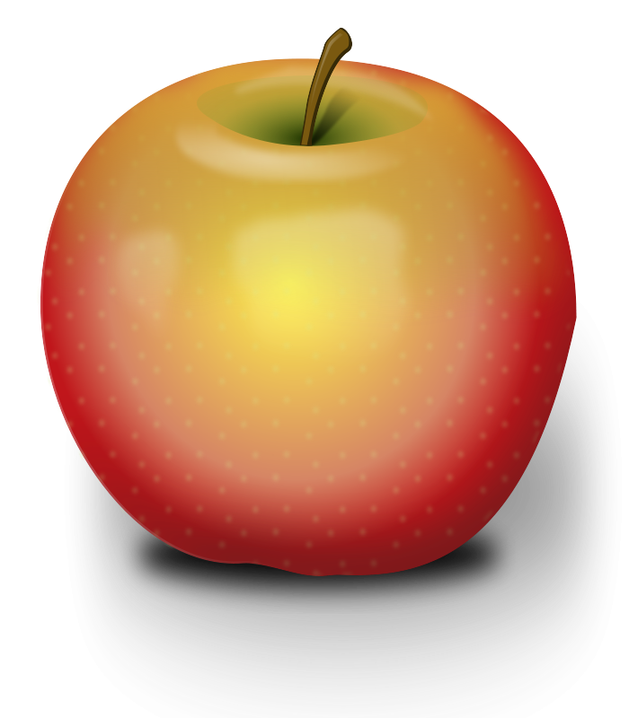 Free Photorealistic Red Apple