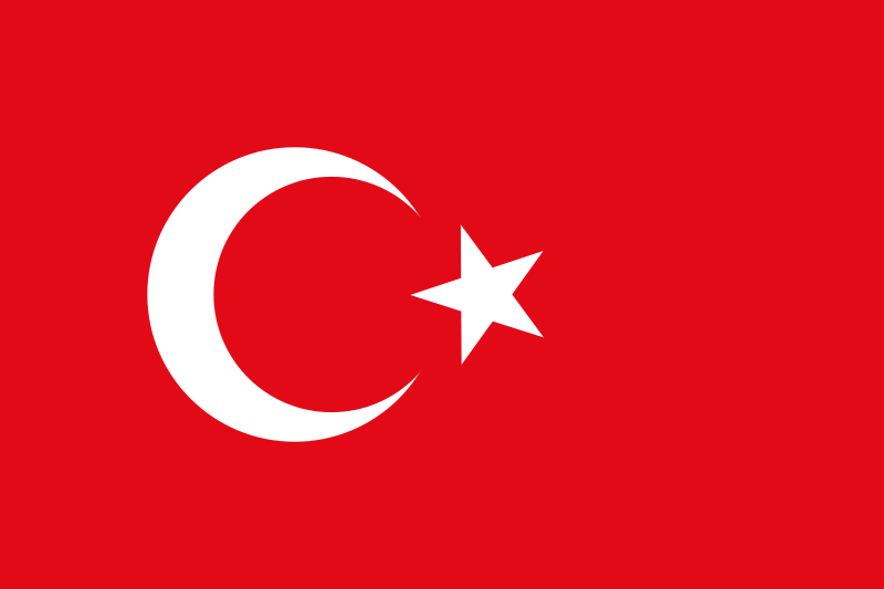 Free Flag of Turkey