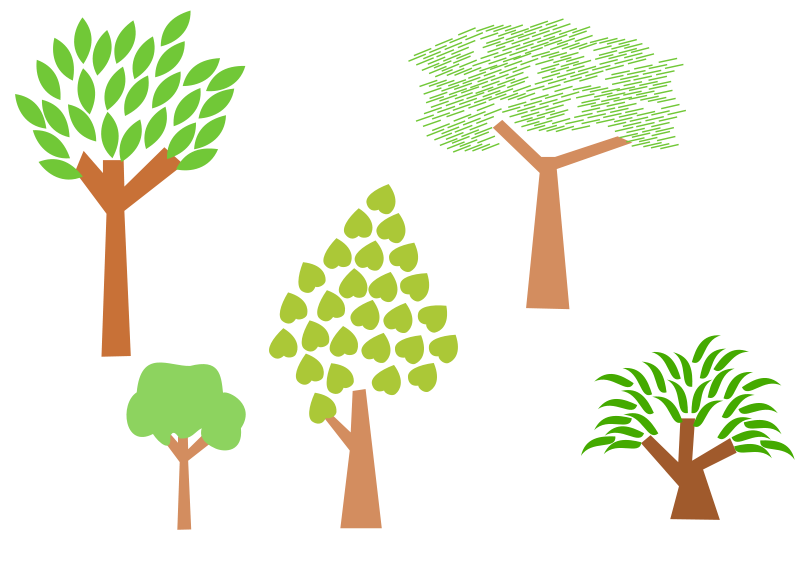 Free Clipart Trees Bratac