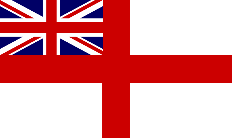 Free Historic Flag of the English Royal Navy