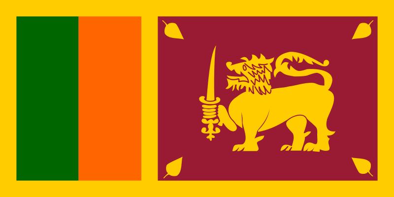 Free Flag of Sri Lanka