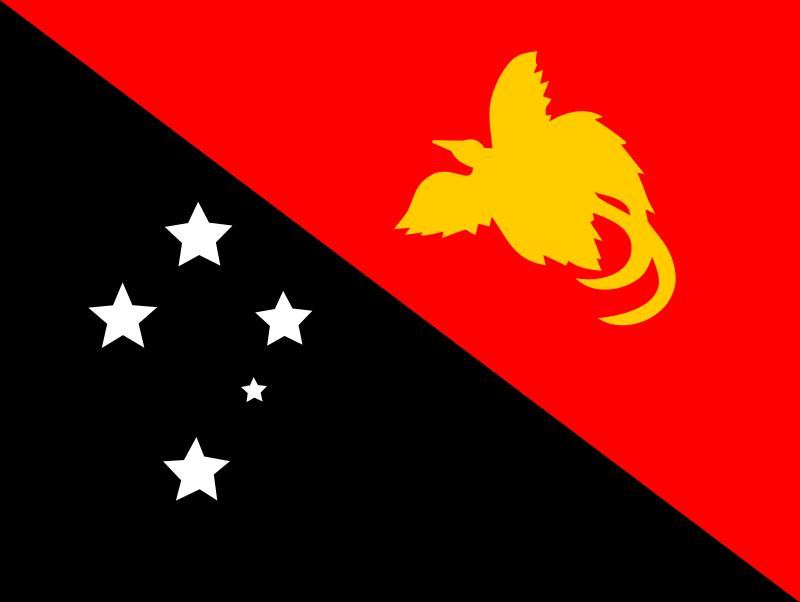 Free Flag of Papaua New Guinea