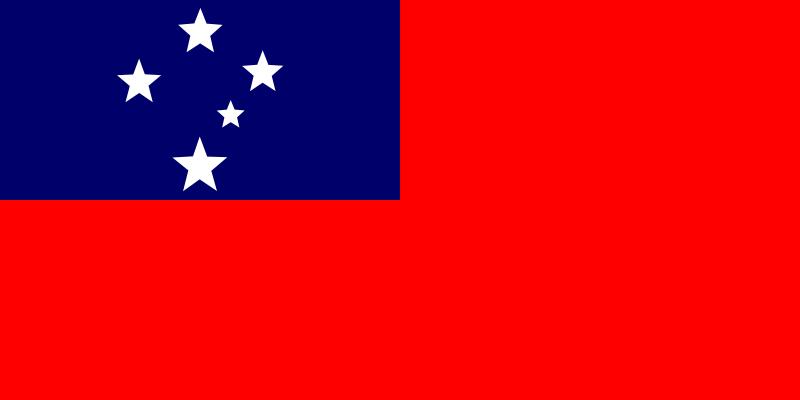 Free Flag of Samoa