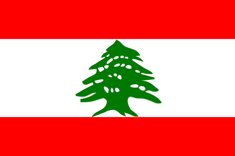 Free Flag of Lebanon