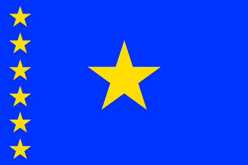 Free Flag of Congo Kinshasa