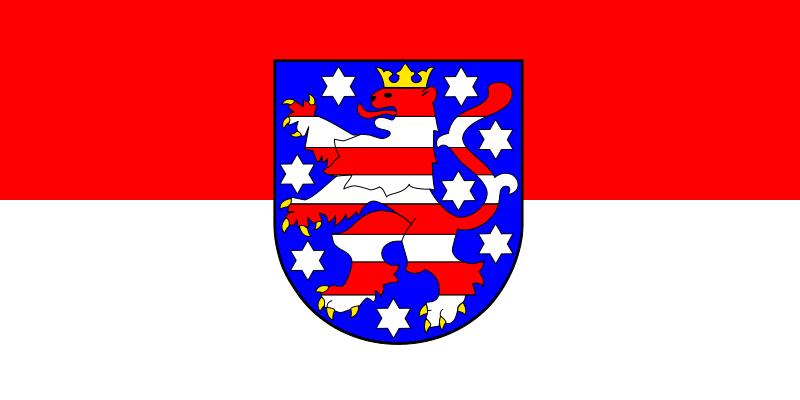 Free Flag of Thuringia