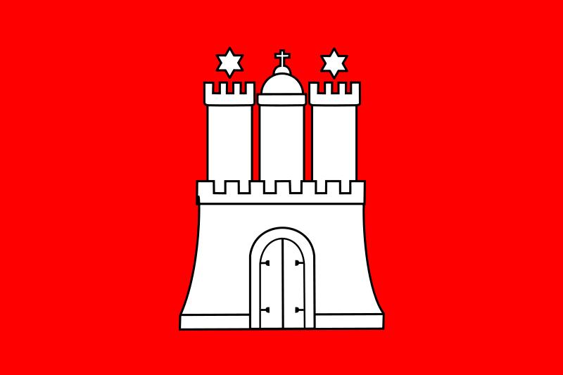 Free Flag of Hamburg
