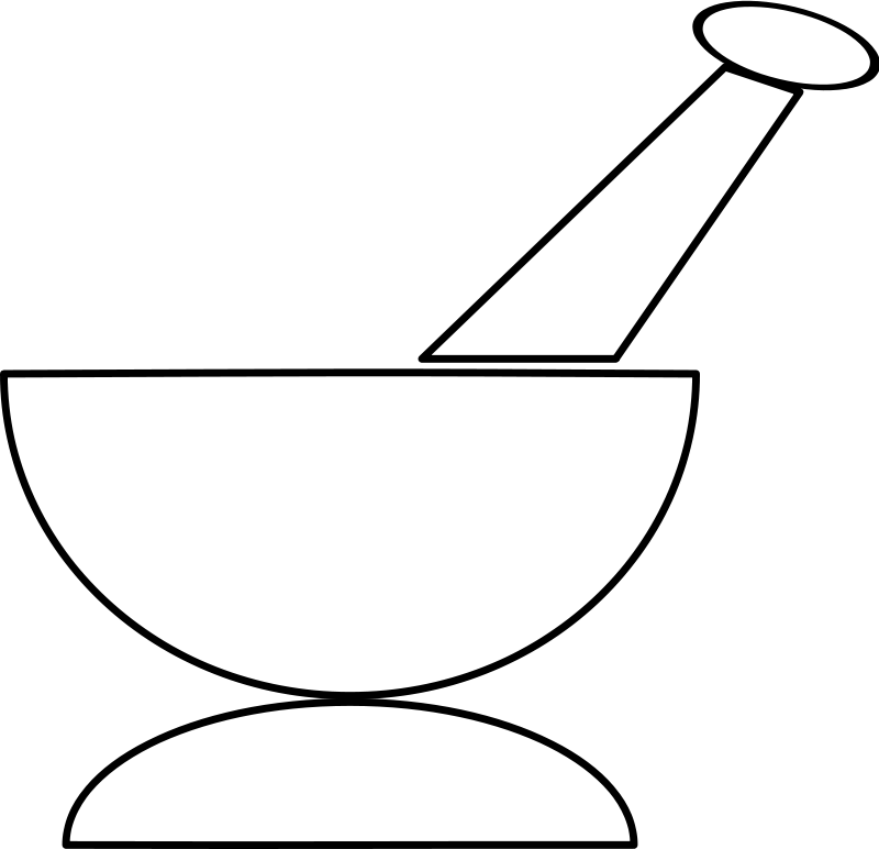 Free Mortar and Pestle
