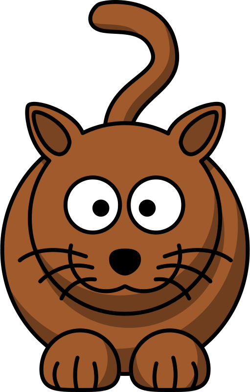 Free Clipart: Cartoon cat | lemmling