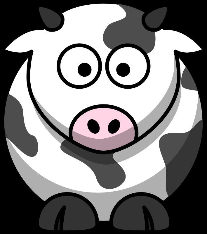 Free Cartoon cow