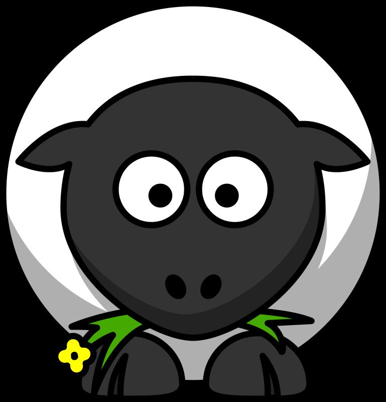 Free Cartoon sheep