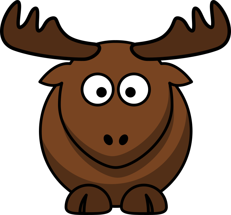 free clipart cartoon elk lemmling rh 1001freedownloads com elk clip art free elk clip art black and white