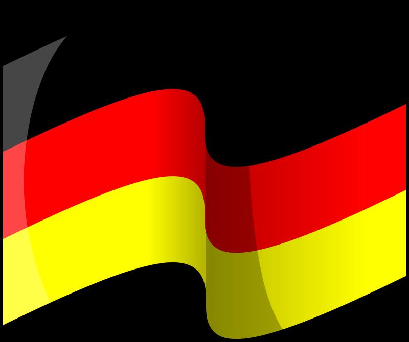 Free Flag of Germany (waving)