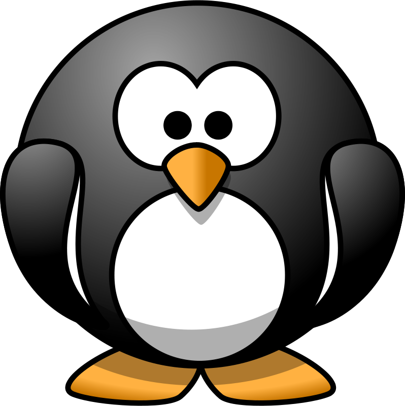 Free Cartoon penguin