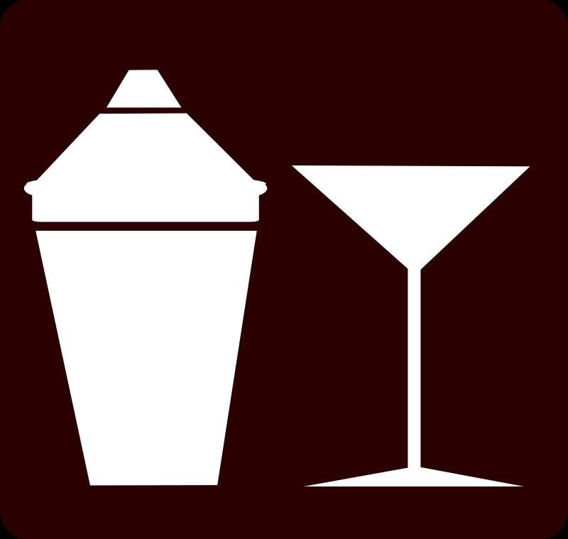 Free Clipart: Cocktail Icon / Martini Icon | FunDraw_dot_com
