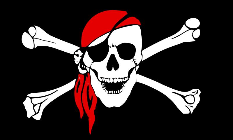 Free drapeau pirate