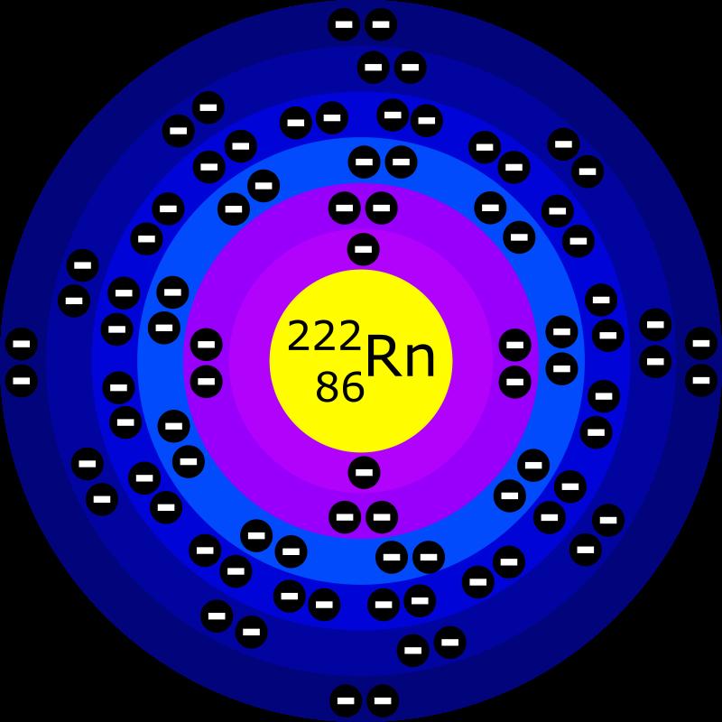Free Clipart: Atome de Radon | laurent
