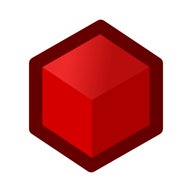 Free icon_cube_red
