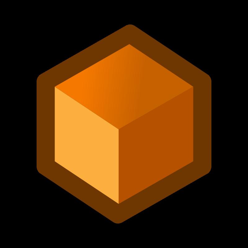 Free icon_cube_orange