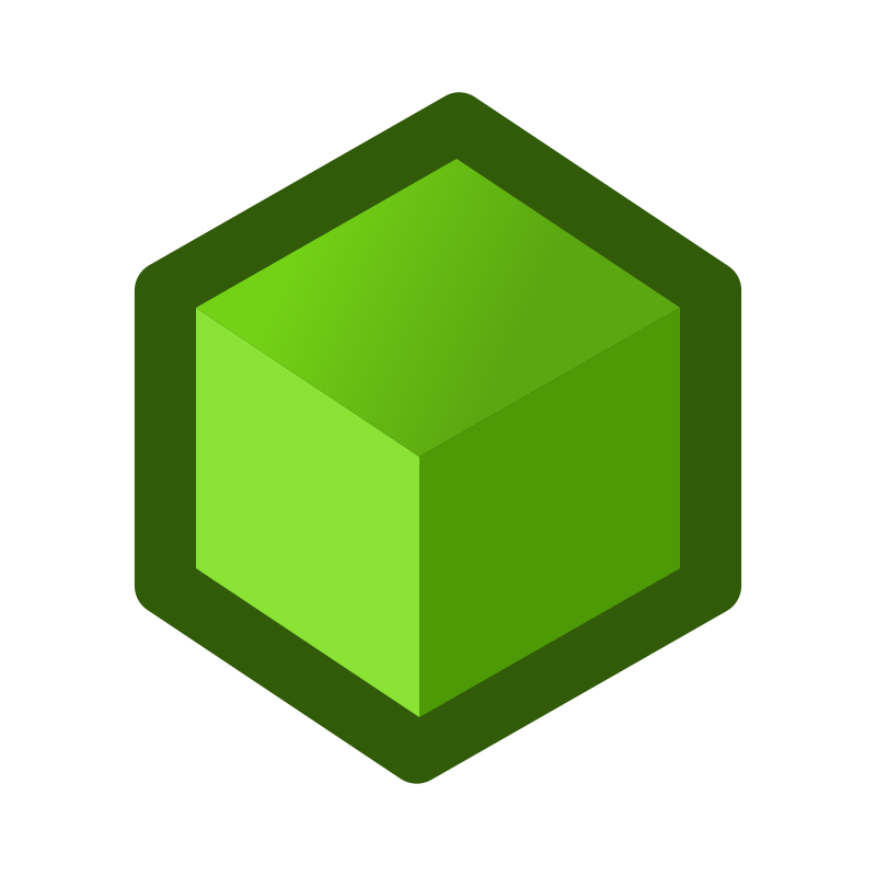 Free icon_cube_green