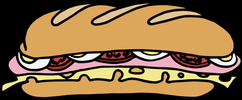 Free Clipart: Sandwich_one | jean_victor_balin