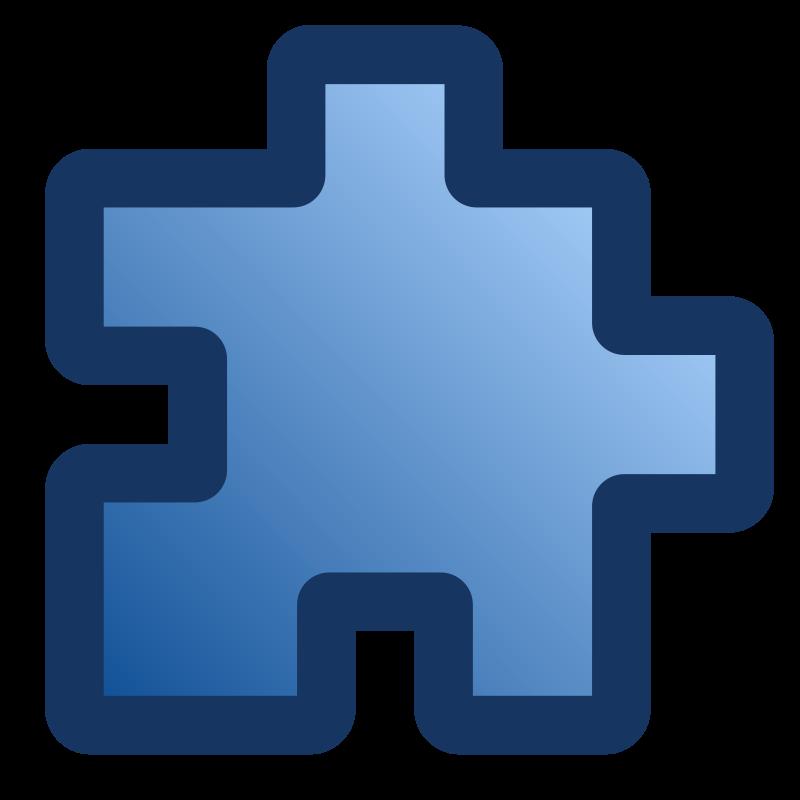 Free icon_puzzle_blue