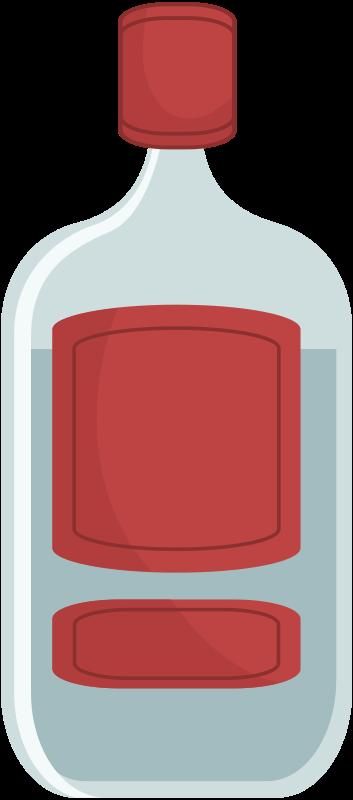 Free Clipart: Bottle | jean_victor_balin