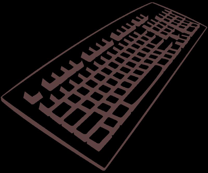 Free Clipart: Keyboard | DooFi