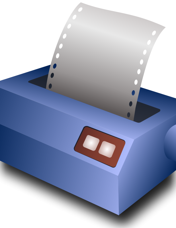 Free matrix printer