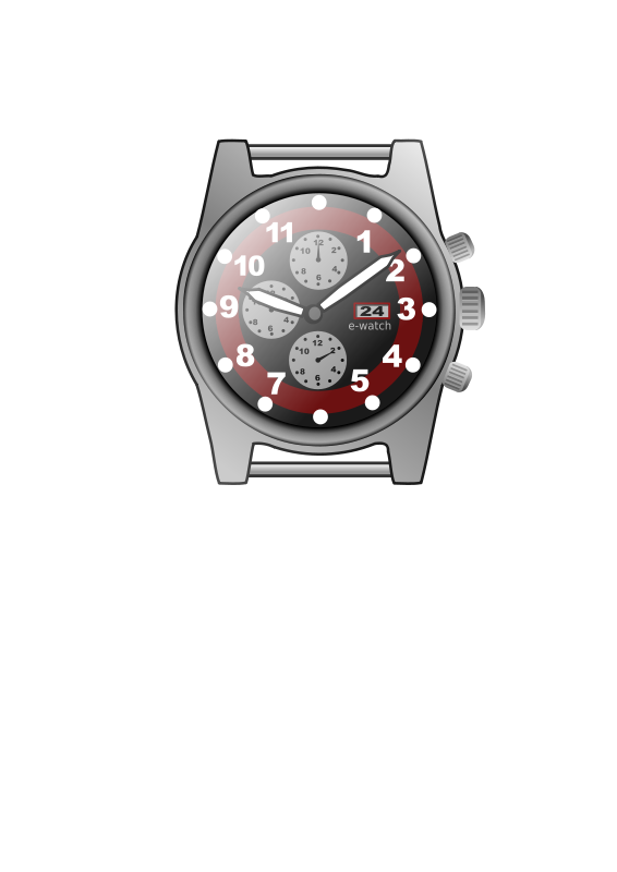 Free chronograph watch