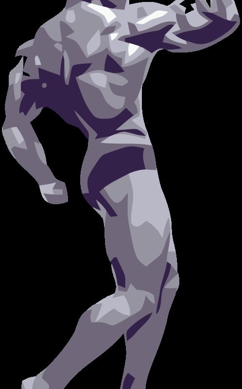 Free Posing Bodybuilder